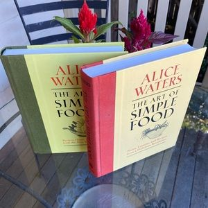 Book 1 &2 of Alice Waters The Art of Simple Food